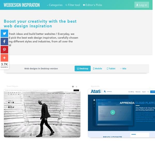 Webdesign-Inspiration.com: Best web designs inspiration gallery