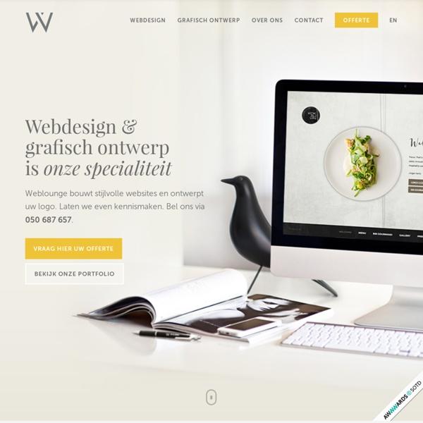 Webdesign Weblounge - Webdesign - Logo ontwerp