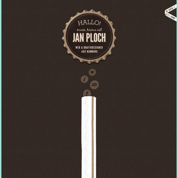 Online Portfolio von Jan Ploch – Webdesigner, Grafikdesigner aus Hamburg