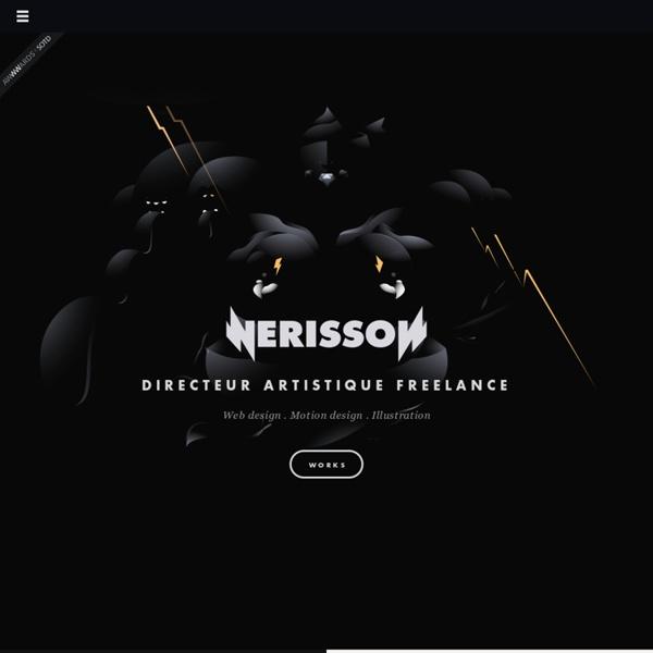 Nerisson - Art Director & Graphic Designer based in Strasbourg