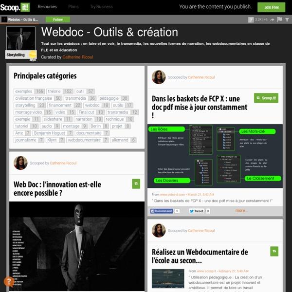 Webdoc - outils et création