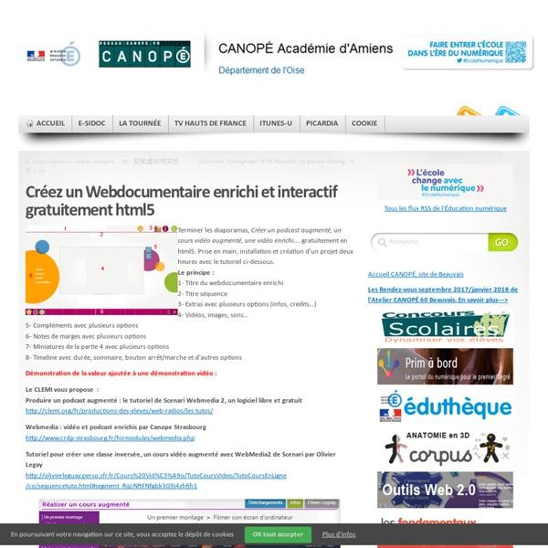 Créer un Webdocumentaire enrichi et interactif gratuitement
