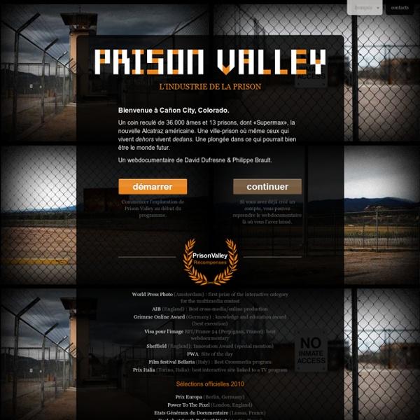 Un webdocumentaire sur l'industrie de la prison