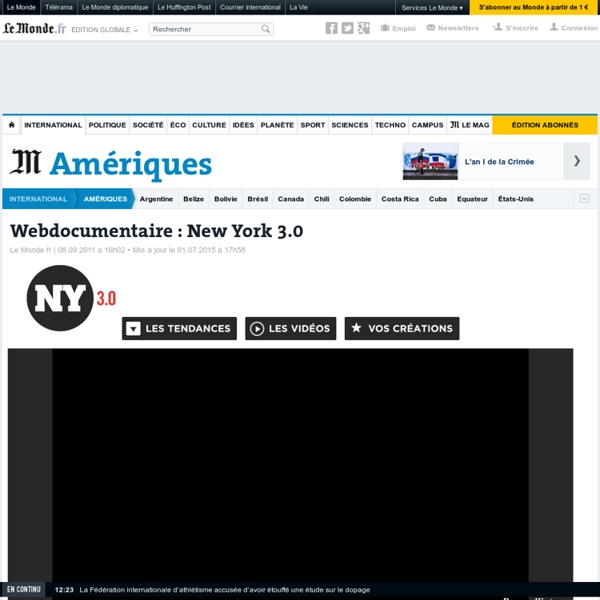 Webdocumentaire : New York 3.0