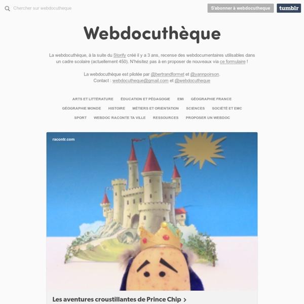 Webdocuthèque