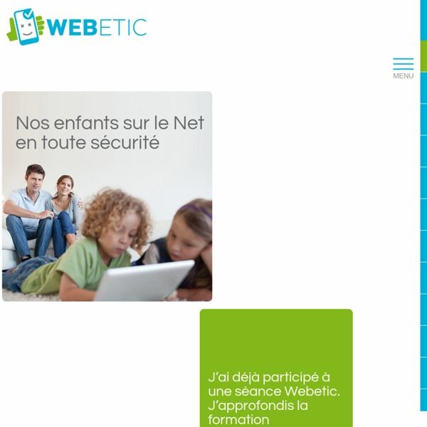 Webetic, le site sur la sécurité en ligne de Child Focus