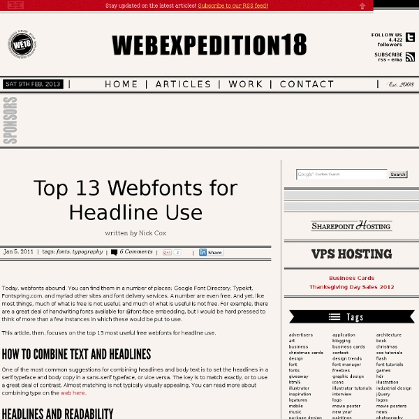 Webexpedition