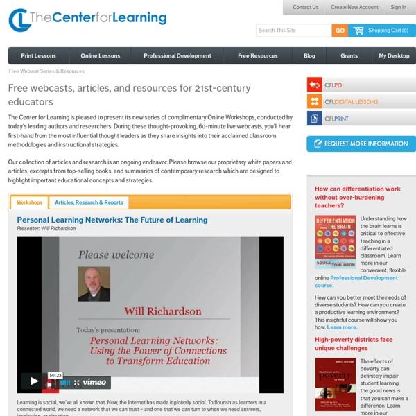 Free Workshops For Teachers