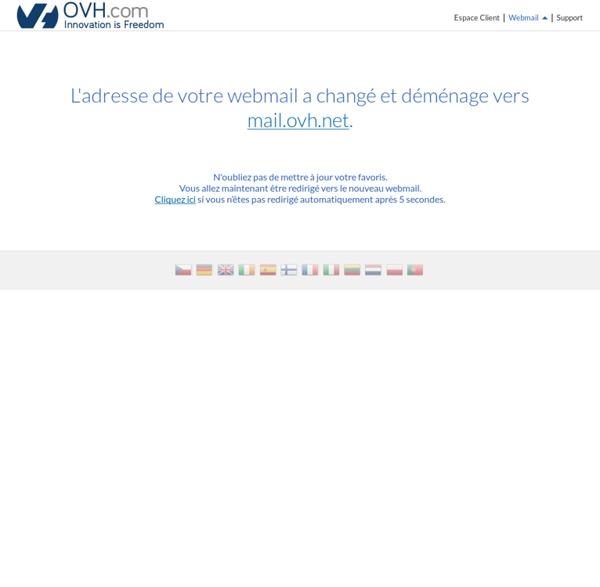 Webmail - OVH
