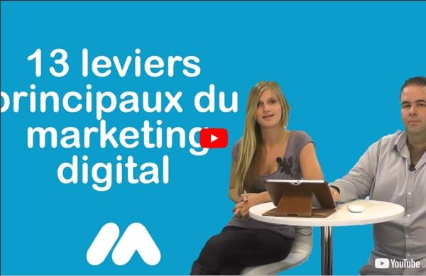 Webmarketing - 13 leviers principaux du marketing digital - Vidéo formation gratuite Market Academy