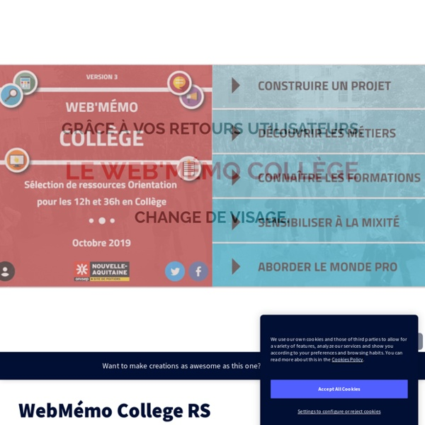 WebMémo College RS by drobordeaux on Genial.ly