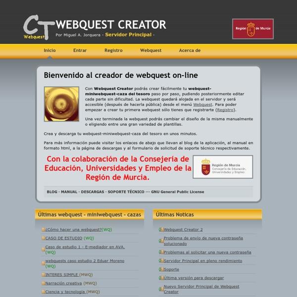 WEBQUEST CREATOR