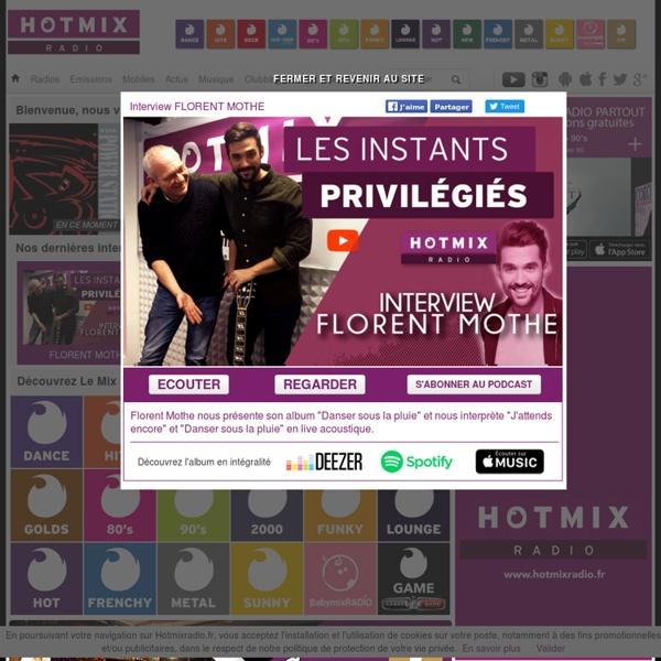 Webradio : Hotmix Radio 15 formats - Ecoutez de la musique gratuitement - iradio