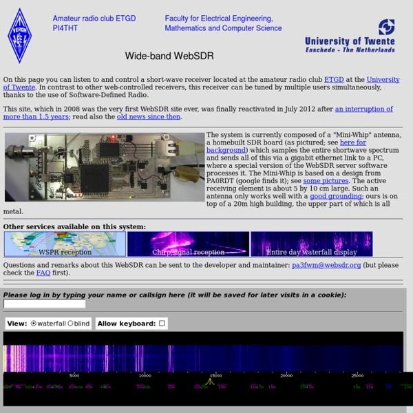 SDR - Radio definida por software