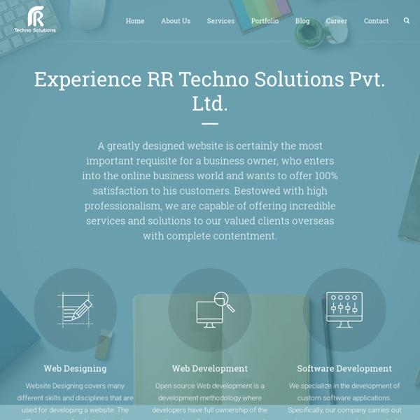 Best Website Development & Designing Company India - rrtechnosolutions