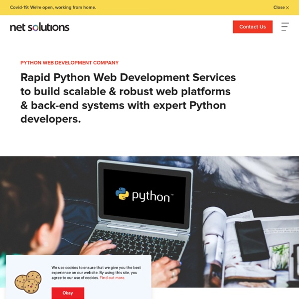 Python Website Development Toronto