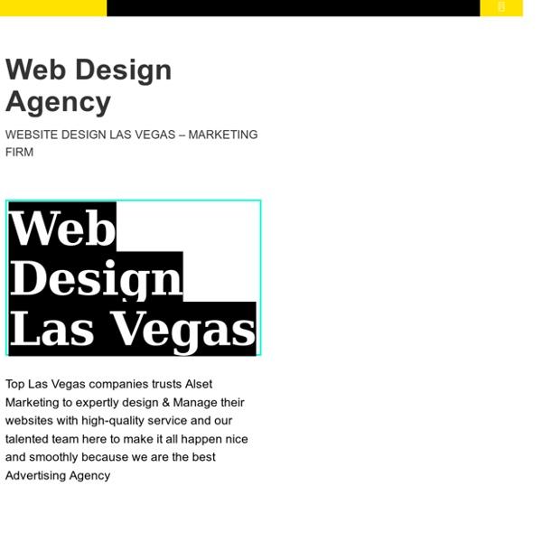 Website Design Las Vegas NV - Alset Marketing & Advertising Agency