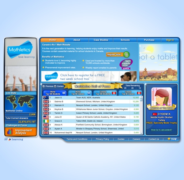 Canada's Number 1 Math Website - Mathletics.ca - Love Learning