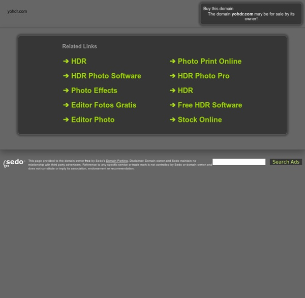 Easily Create Great HDR Photos Online