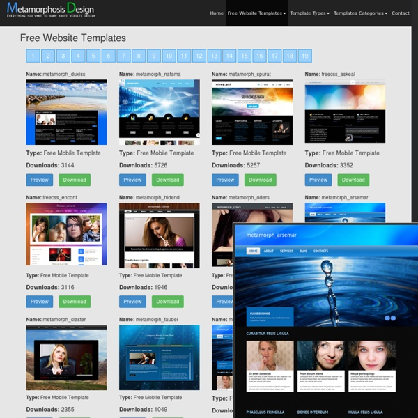 Free Website Templates Free Web Templates Flash Templates Website - Website front page template