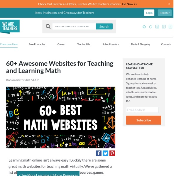 Math Websites for the Classroom