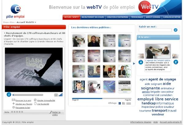 WebTV Pôle emploi