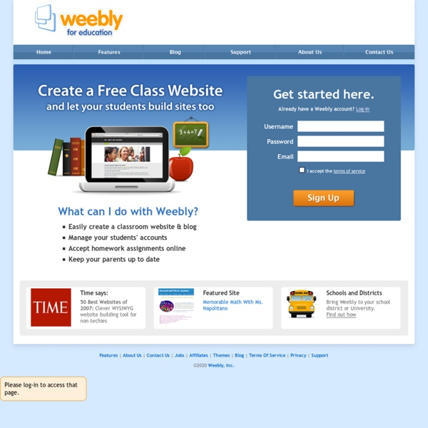 Create a free website and a free blog
