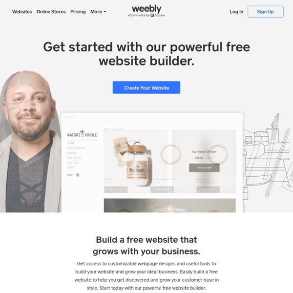Create a Free Website, Online Store, or Blog