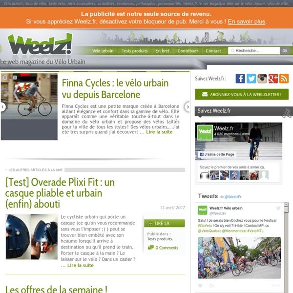 Le web magazine du Vélo Urbain