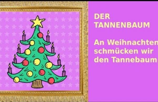 Weihnachten: 24 Sätze auf Deutsch - German for children + beginners: christmas