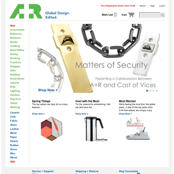 Welcome to the A+R Store