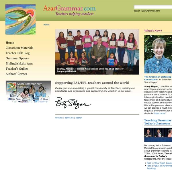 Welcome to AzarGrammar.com