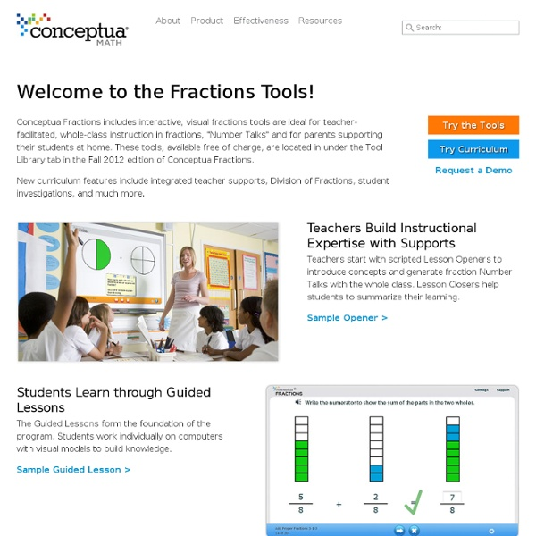 Free Fractions Tools