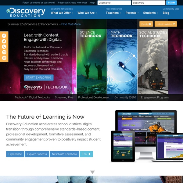 Welcome to Discovery Education