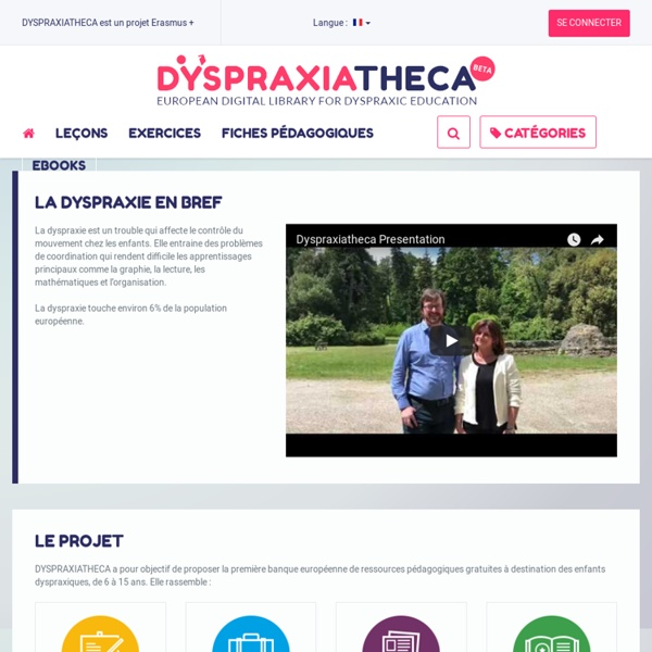Welcome to Dyspraxiatheca!