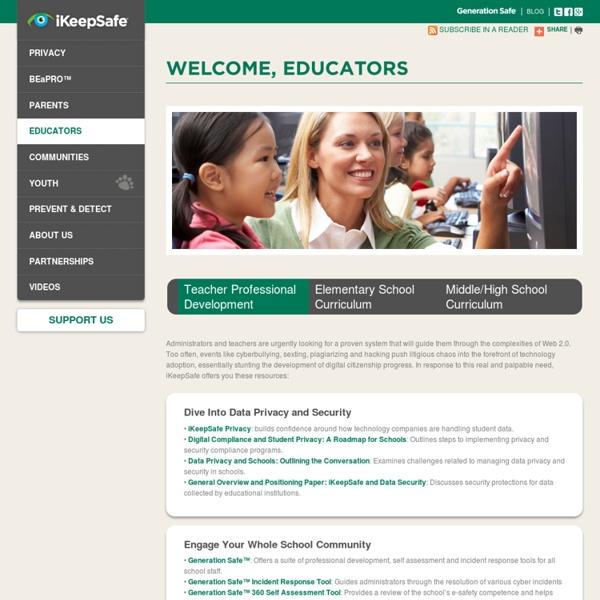 Ikeepsafe Welcome, Educators!