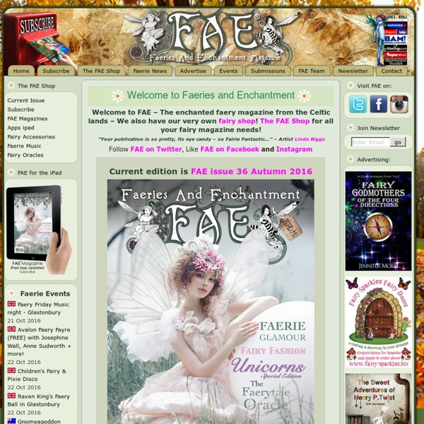 Welcome to Faeries and Enchantment
