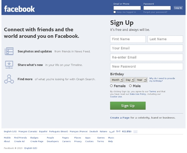 Facebookcom Welcome To Facebook Log In Sign Up Or Learn More | Autos ...
