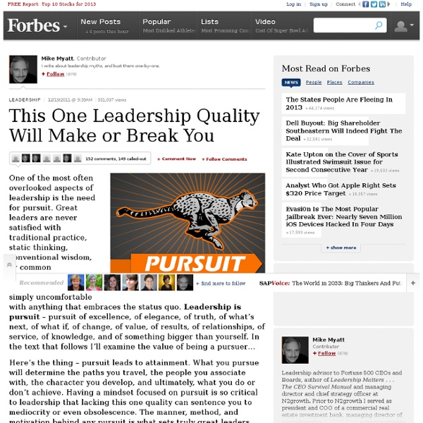 This One Leadership Quality Will Make or Break You