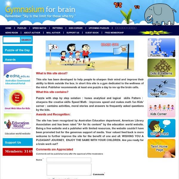 Home - Gymnasium for Brain