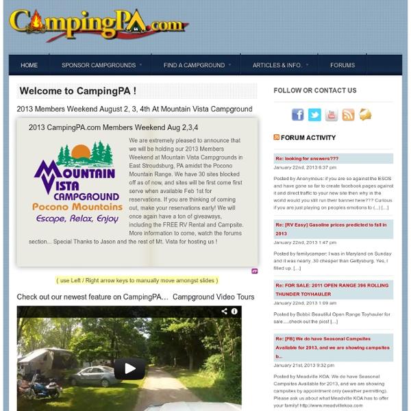 Camping PA - Readers Favorite Breakfast Recipes