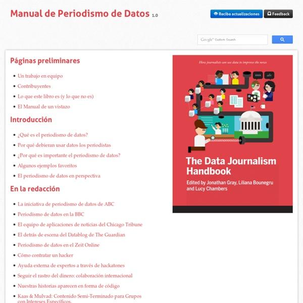 Welcome - Manual de Periodismo de Datos