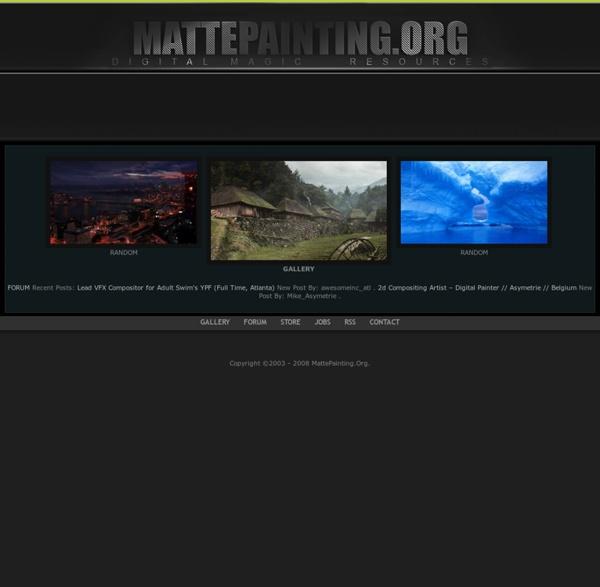 MattePainting.Org