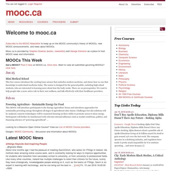 MOOC.CA