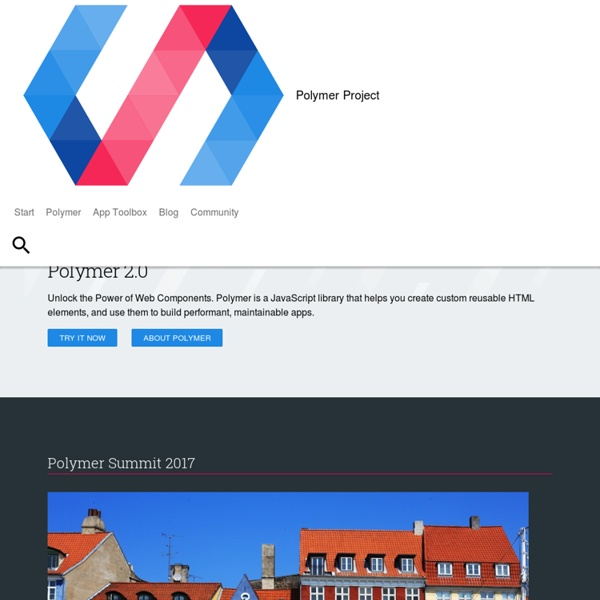 Welcome - Polymer