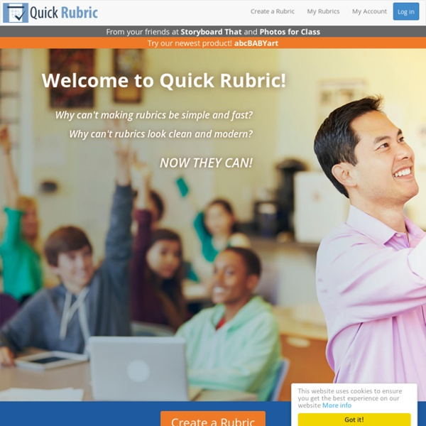 Welcome to Quick Rubric – Free, Fast, and Easy to Use! :)