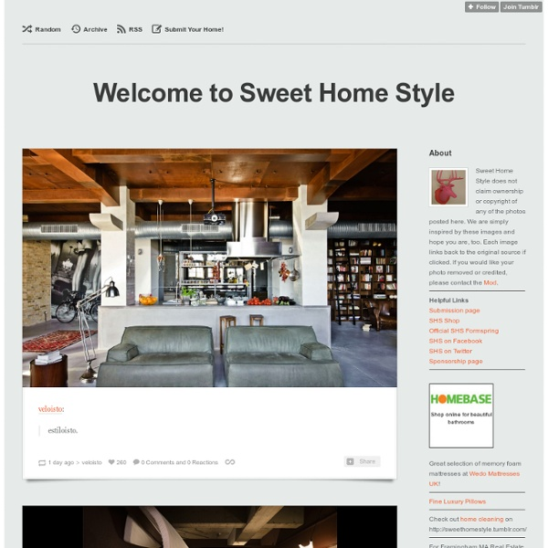 Welcome to Sweet Home Style