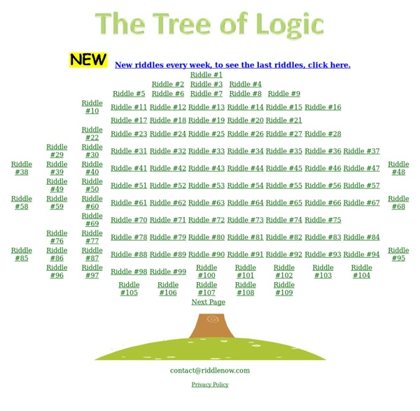 The Tree of Logic
