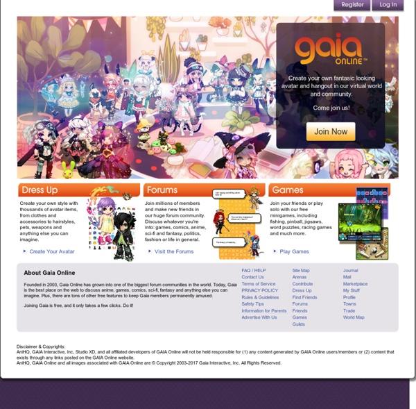 Welcome to Gaia