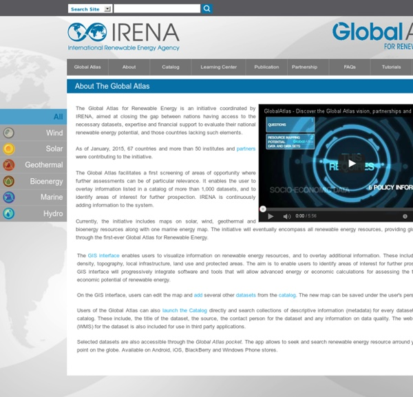 Welcome to IRENA-Global-Atlas